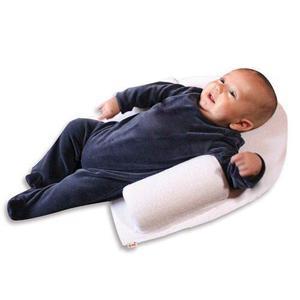 Cojin Antireflujo Duerme Seguro Bebe Multiusos Blanco Bam