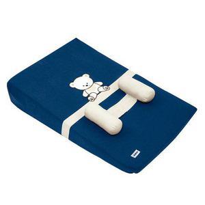 Colchon Anti Reflujo Para Bebe Baby Blue Osito Azul Marino