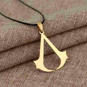 Collar Assassins Creed Assassins Creed Hoja Dorada