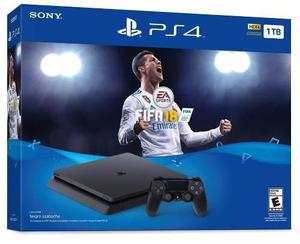 Consola Playstation 4 Slim Ps4 1tb Fifa 18 Nuevo A Msi