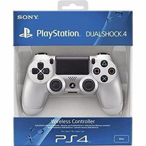 Control Dualshock 4 Para Ps4 Plata Original Nuevo Sellado