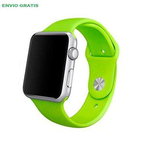 Correa Extensible Apple Watch 1,2,3,4 Silicone Premium 38/42