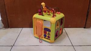 Cubo de actividades didacticas para bebes interactivo