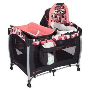 Cuna Corral Baby Trend Nursery Cambiador Portabebe Vibracion
