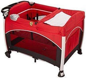 Cuna Corral De Viaje Ferrari Prinsel Facil Armado Bebe Nepa