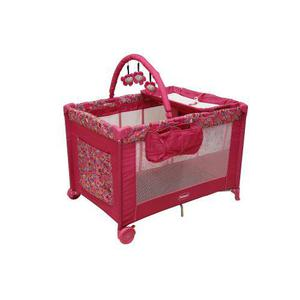 Cuna Corral Magic Prinsel Con Cambiador Rosa Msi Envio Grati
