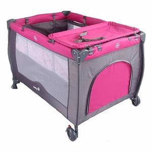 Cuna De Viaje Sweet Dreams Rosa Safety First Nuevo