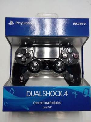 Dual Shock Jet Black Ps4 Controller