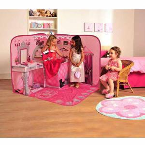 Espacio De Juego Pop Up 3d Princesas Disney Junior