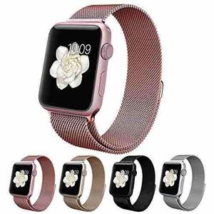 Extensible Correa Apple Iwatch Serie 1 2 3 4 Acero Milanese