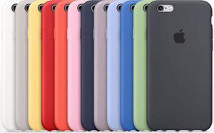 Funda De Silicón Case Apple Original Iphone 5, 6, 6 Plus