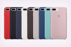 Funda De Silicón Case Apple Original Iphone 7 Y 7 Plus