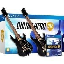 Guitar Hero Live Bundle 2 Guitarras Y Juego Ps4 Nuevo