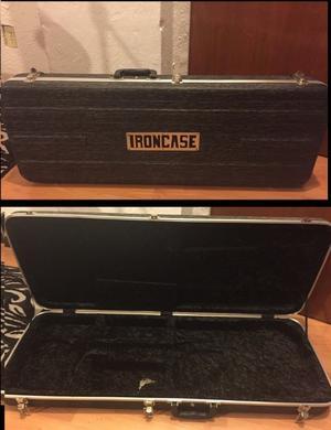 Iron Case Estuche Para Guitarra Eléctrica