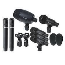 Juego Microfonos P/bateria Takstar Dms-7a Envio Gratis Msi