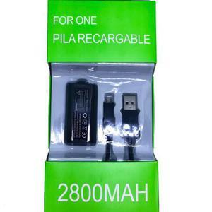 Kit Batería Recargable Carga Y Juega Para Xbox One Pila