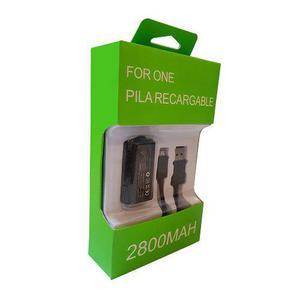 Kit Bateria Recargable Carga Y Juega Para Xbox One Pila /e