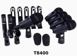 Kit De 7 Micrófonos Para Batería Alctron T8400 Envió