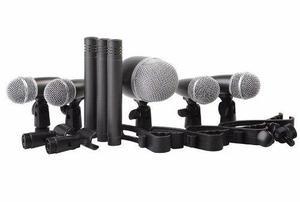 Kit De 8 Microfonos Para Bateria Proel Dmh8xl
