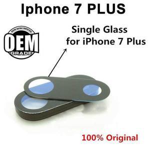 Lente De Cristal Camara Trasera Iphone 7 Plus Facil Instalac