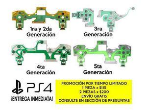 Membrana Para Control De Ps4 Todos Los Modelos Flex