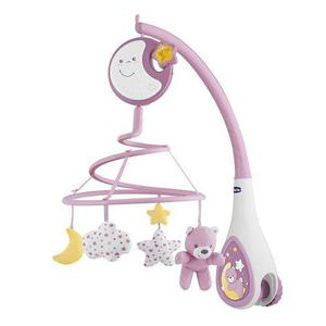 Movil Musical Para Cuna Corral Marca Chicco Next2dreams Rosa