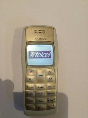 Nokia 1100 En Muy Buen Estado Display Blanco Para Telcel