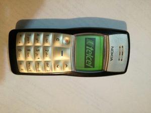 Nokia 1100b Negro En Excelente Estado Para Telcel