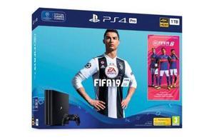 Playstation 4 Slim Ps4 1tb Fifa 2019 Nuevo A 12 Msi + Envió