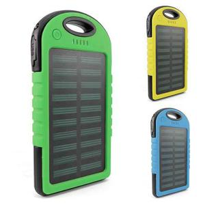 Power Bank Solar Bateria Portatil 12,000 Ma Linterna Led Usb