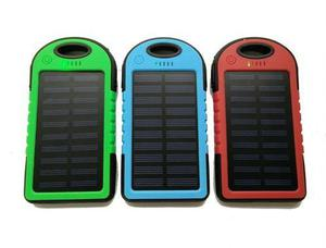 Power Bank Solar Cargador Bateria Emergencia Manejamos Mayor