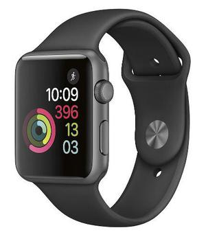 Reloj Apple Watch A1803 42mm Space Gray Aluminum Sport Band