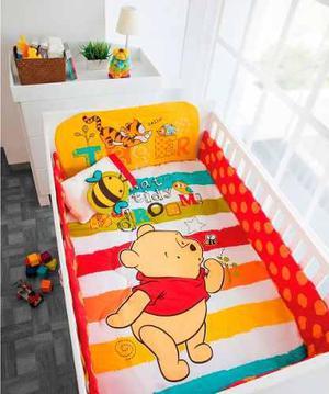 Set De Edredon Para Cuna Bebe Winnie Pooh Baby Chiquimundo
