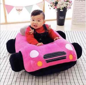 Soporte Aprender A Sentarse Bebé Carro Rosa