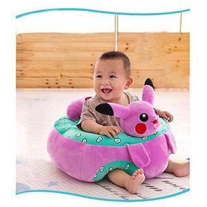 Soporte Aprender A Sentarse Bebé Pikachu Rosa