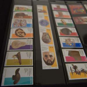 Timbres Postales Serie Permanente Completa 2008 México