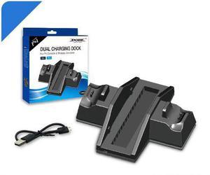 Ventilador Y Estación De Carga Para Ps4 (fat) Y Ps4 Pro