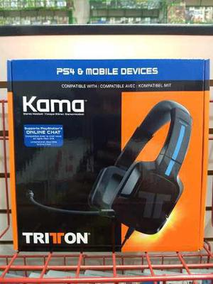 Wired Headset Kama White 3.5 Mm (tritton).-ps4