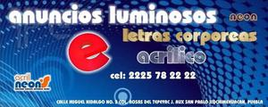 anuncios luminosos acrilneon's