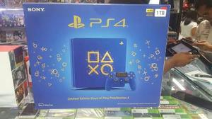 consola Ps4 Slim 1tb Limited Edition Days Of Play:. Nueva