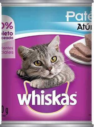 Alimento Para Gato Whiskas Atun Lata 350 G