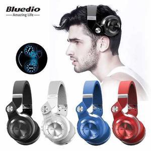 Audifonos Bluedio Plus T2+ Fm Sd Bluetooth 40 H Envío