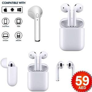 Audifonos Tipo Airpods Bluetooth Musica Y Llamadas I7s Par