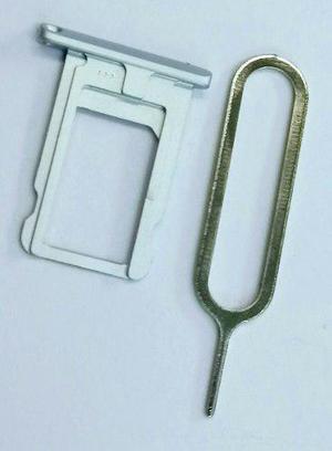 Bandeja Porta Sim Ipad Míni 1 Y 2 Blanco +llave De