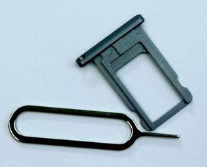 Bandeja Porta Sim Ipad Míni 1 Y 2 Negro +llave De