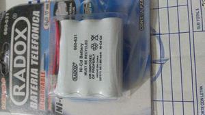 Bateria/pila Telefonica Recargable Para Telefono Inalambrico