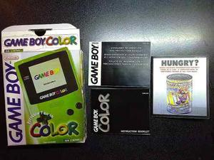 Caja Para Gameboy Color + Folleteria Completa Hgmx