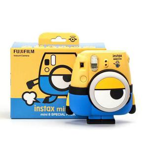 Camara Fujifilm Instax Mini 8 Minion Edicion Especial Nueva