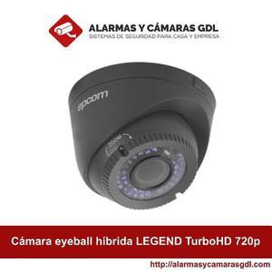 Cámara Eyeball Híbrida Legend Turbohd 720p Analógico