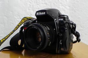 Cámara Nikon D700 Como Nueva 40k Disparos